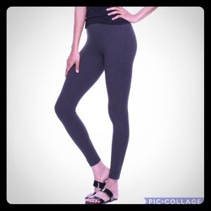 NWT Utopia by HUE Ankle Slit Leggings Stretch XXL